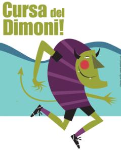 Logo Cursa del Dimoni