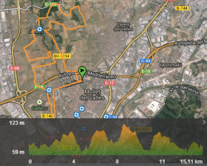 Perfil Mollet Night Trail