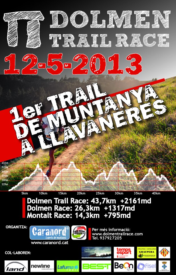 Red runners 1 dolmen trail race - Tiempo llavaneres ...