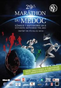 Poster Maraton de Medoc