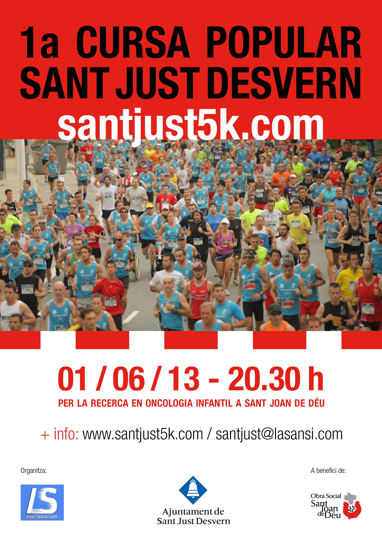 Red runners 1 cursa popular sant just desvern - Tiempo en sant just desvern ...