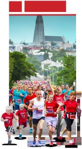 Poster maraton Reykiavik