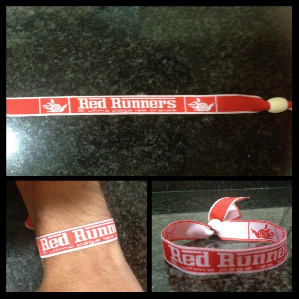 Pulseras Red Runners