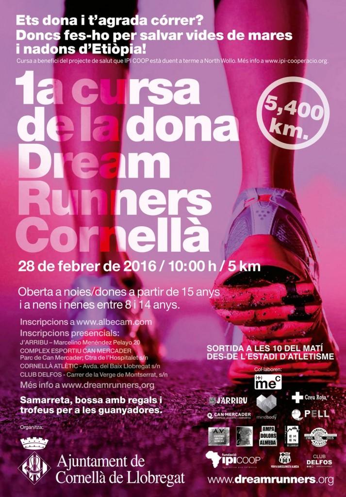 1ª Cursa de la dona Dream Runners Cornellà